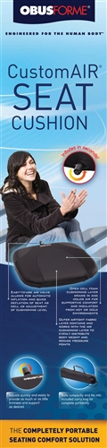 CustomAir Seat Cushion by Obus Forme