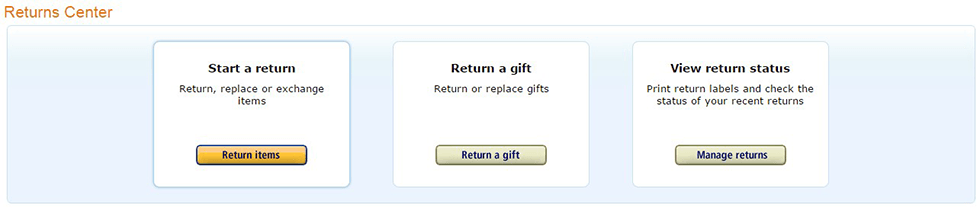Return Policy For Amazon Customers