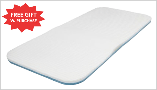 FREE Original Leg Pillow with Any Size Cloud Mattress Pad, Shop Now