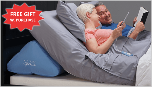 FREE Gift with Mattress Genie purchase today. Shop Now!