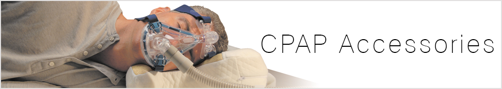 Make your CPAP Therarapy more compliant with our CPAP Pillows, CPAP Cleaners and other CPAP Accessories.