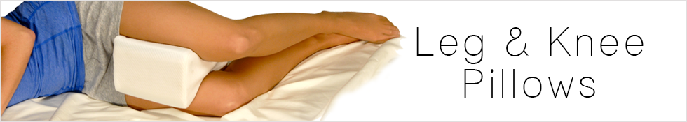 Looking to support your legs or knees? We have several Leg pillows which are perfect for both side and back sleepers to align your spine and prevent pressure while you sleep.
